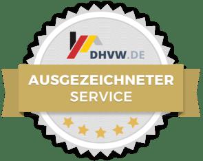 DHVW Ausgezeichneter Service